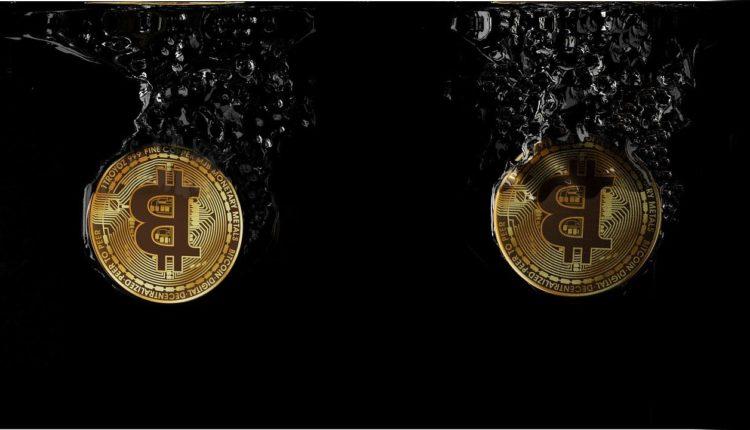 Bitcoin im Tauchgang