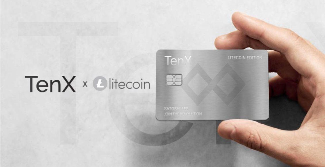 TenX-verkuendet-Partnerschaft-mit-Litecoin