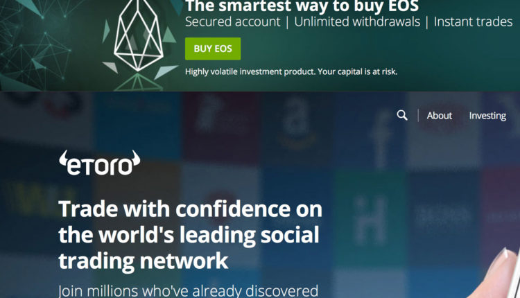 eToro Website Screenshot