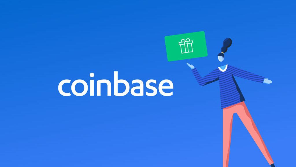 Coinbase-Geschenkkarten