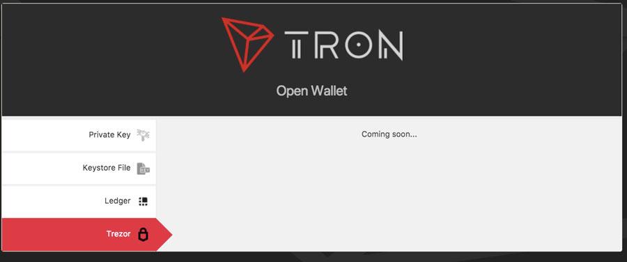 TRON-Trezor-Hardware-Wallet