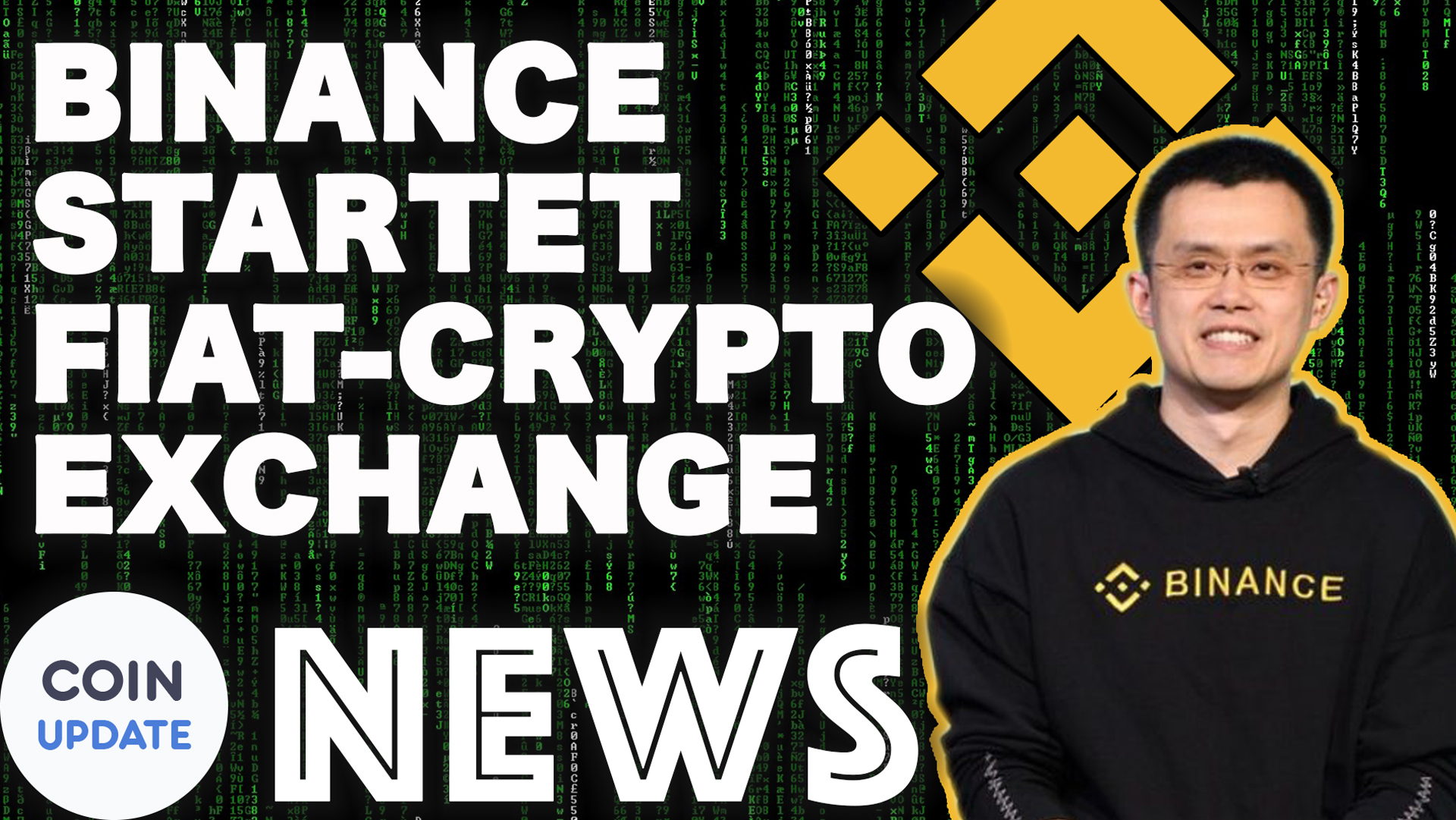 Binance Fiat-to-Crypto Exchange,