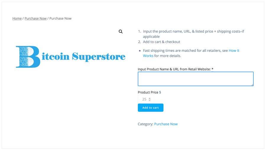 Bitcoin-Superstore-Kaufprozess