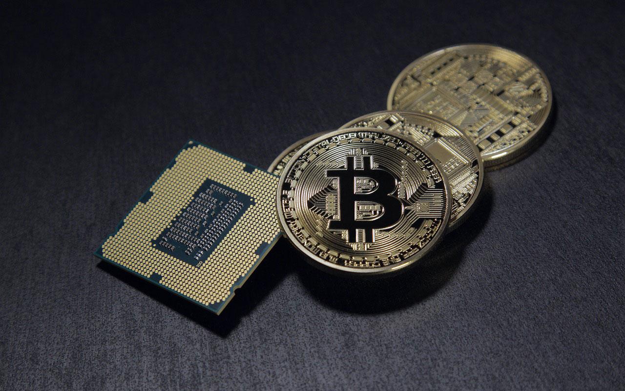 Bitcoin-physikalische-Muenze