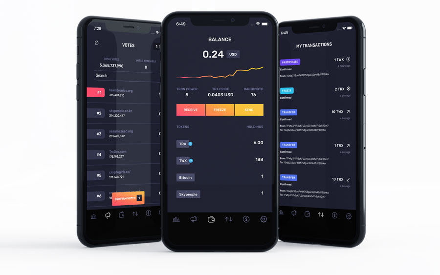 TRON-Wallet-UX-Design