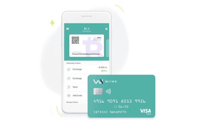 Wirex-Bitcoin-Kreditkarte