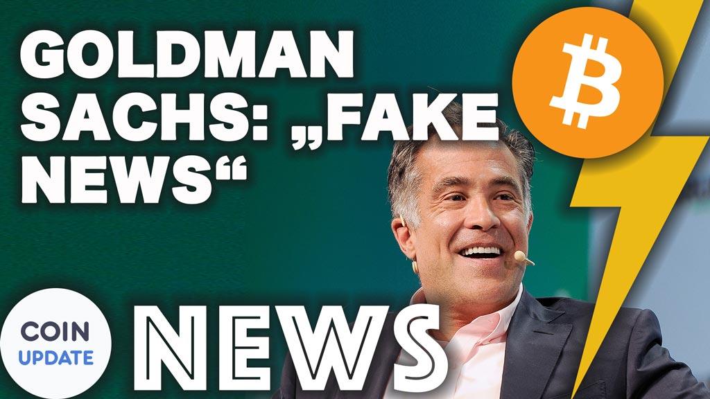 Goldman Sachs Fake News