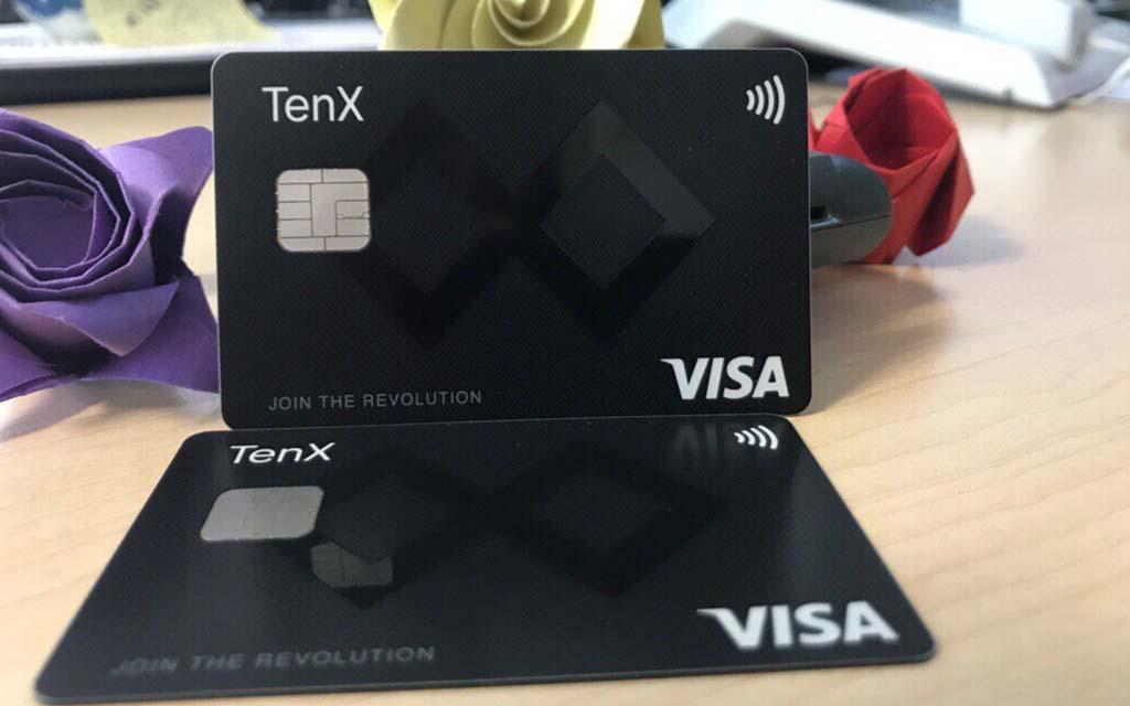 TenX-Krypto-Kreditkarte