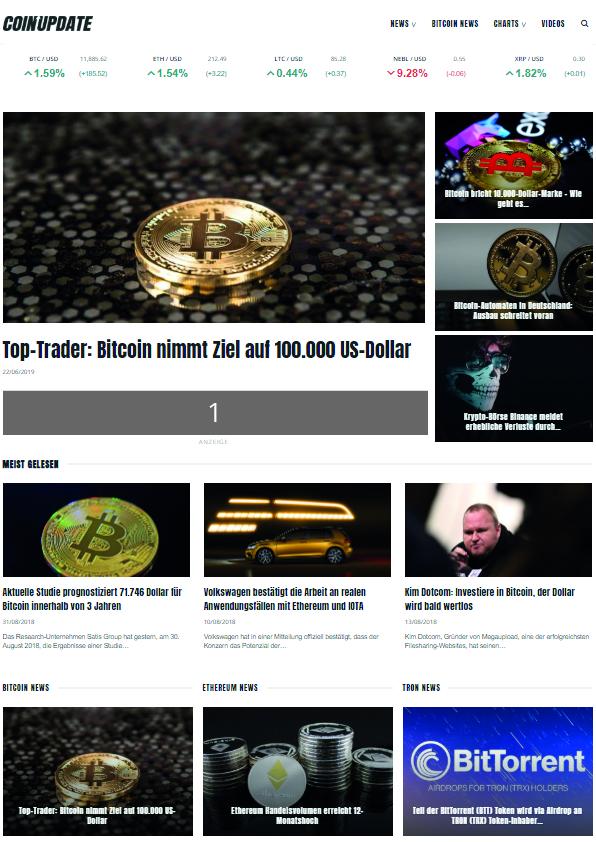 Coin-Update Werbeplatz #1