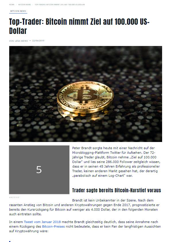Coin-Update Werbeplatz #5