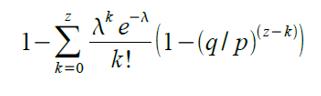 Mathematische Formel im BTC Whitepaper