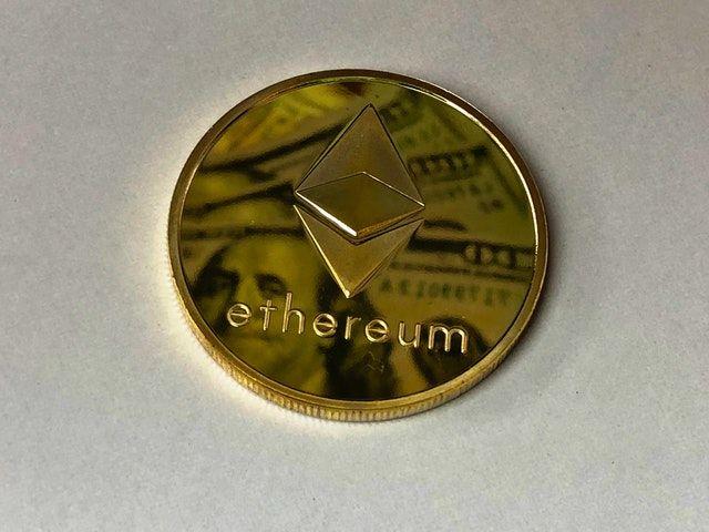 ETH Ethereum coin