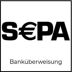 Button Einzahlung mit Banküberweisung SEPA