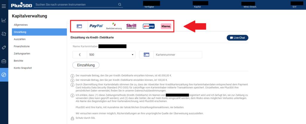 Bitcoin Plus500 kaufen - Übersicht der Zahlungsmethoden