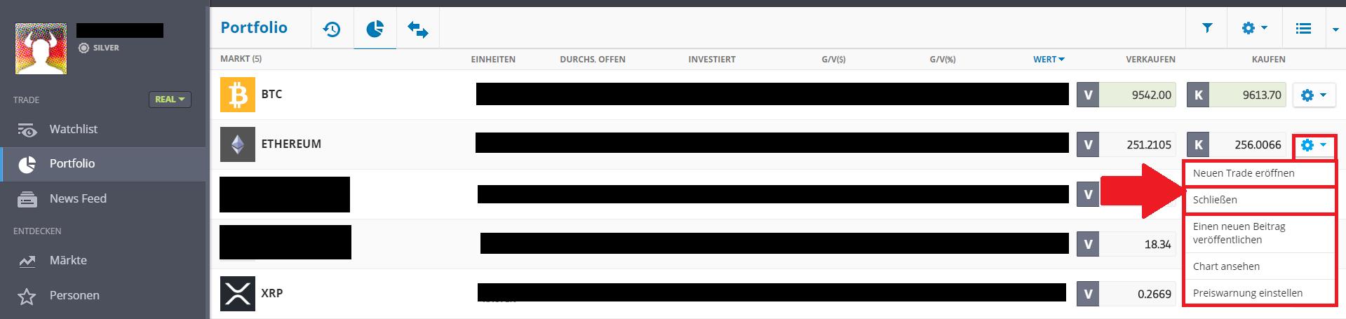 ethereum verkaufen euro