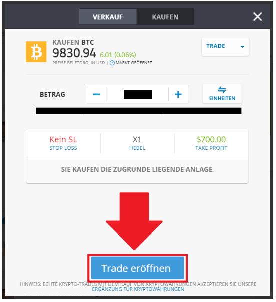 Bitcoin kaufen bei eToro als beste Coinexchange