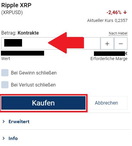 Trade bei Plus500 platzieren - Einzahlung mit Paypal