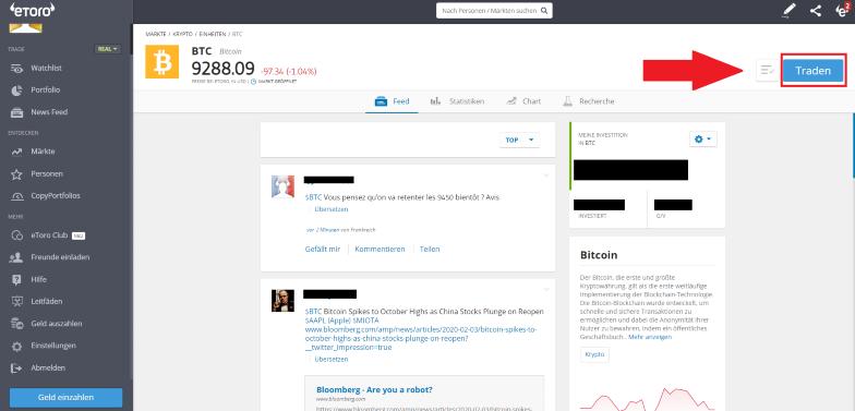 bitcoin dashboard etoro