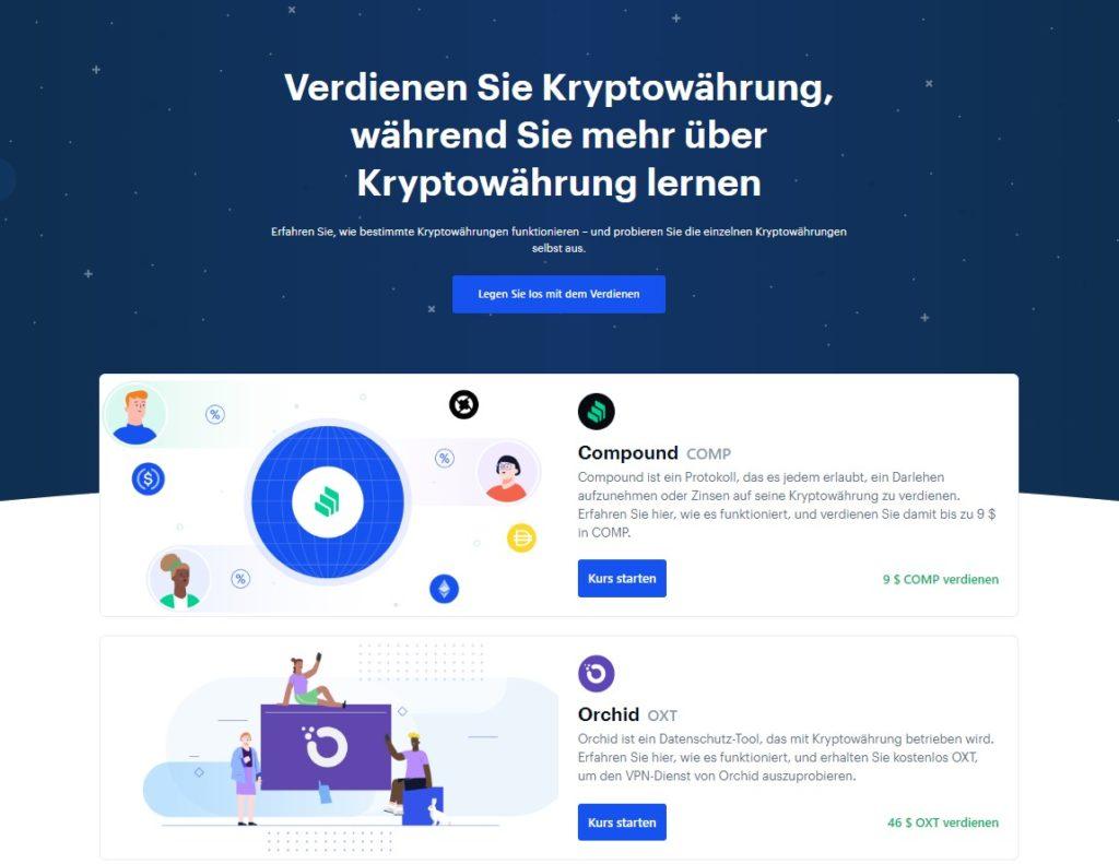 Coinbase Deutsches Konto