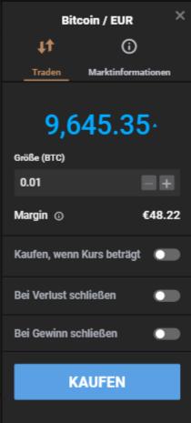 Bitcoin CFD Capital.com