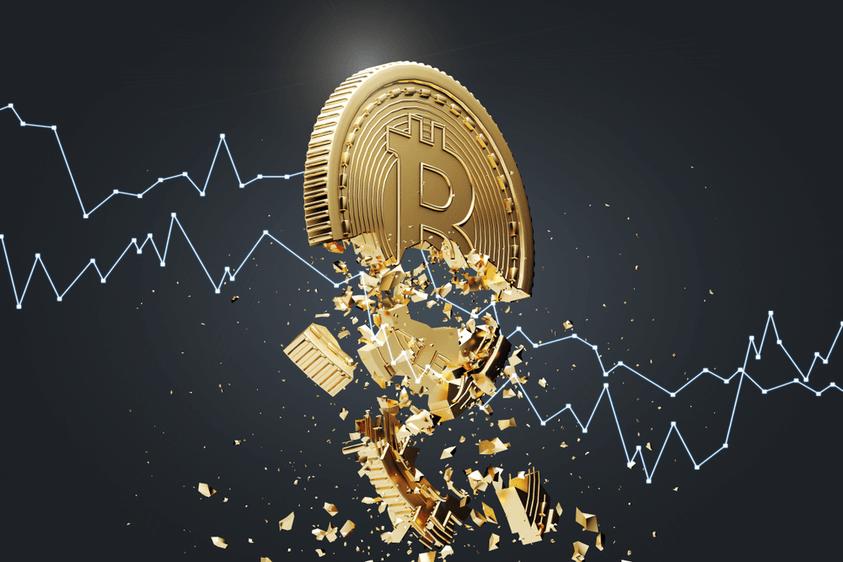 Bitcoin-Rückgang auf $40.000 wahrscheinlicher – Preis fällt durch Support