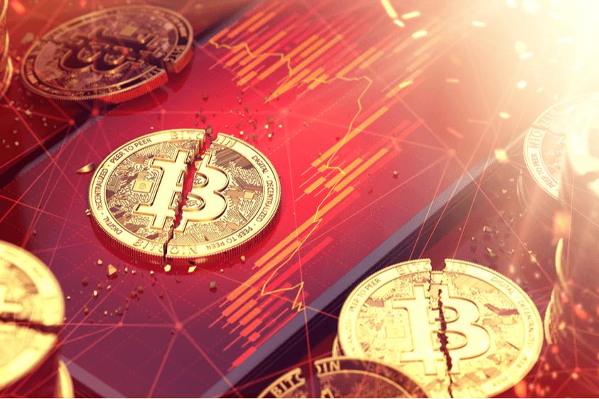 Bitcoin crasht mit Tech-Aktien