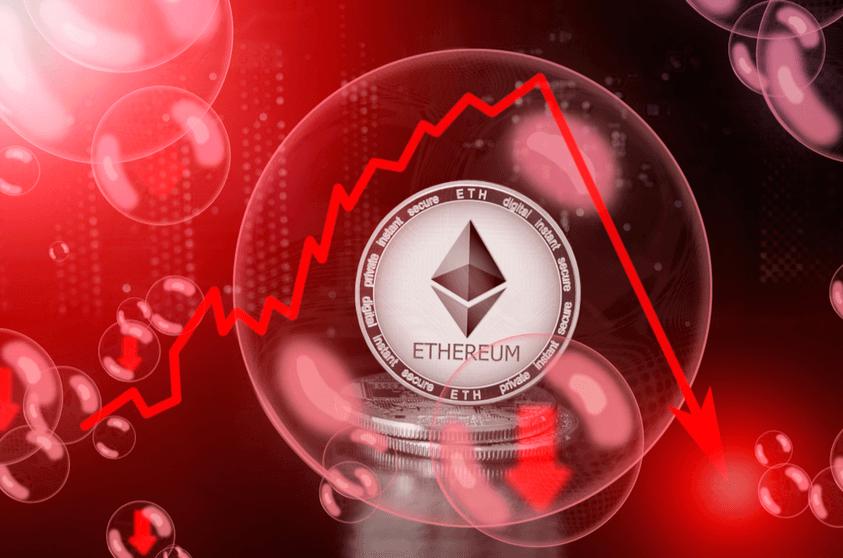 Ethereum-Crash 50% ETH-Walen verursacht