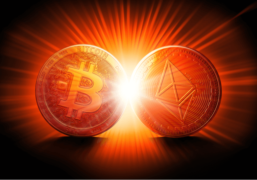 Der Tag an dem Ethereum den Bitcoin schlägt Kommt das Flippening