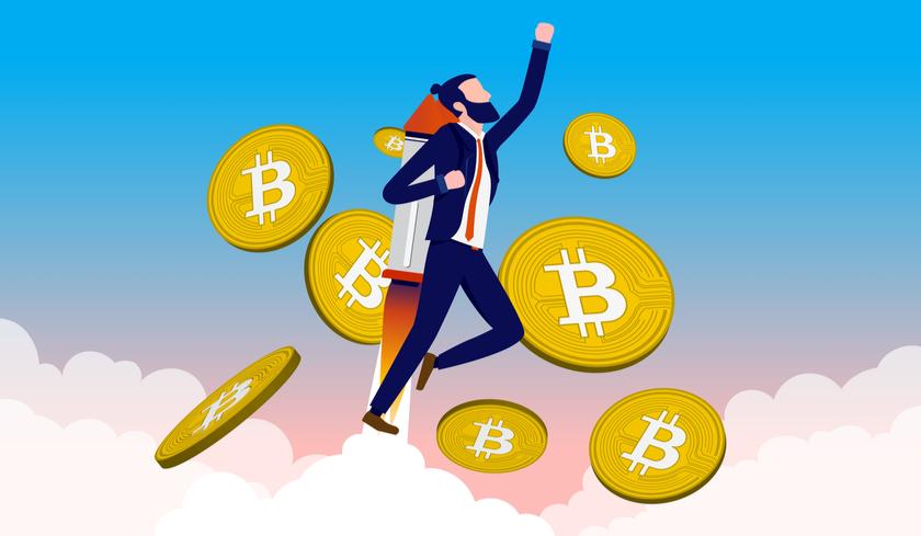 Ist der Bitcoin bereit für einen Sprung