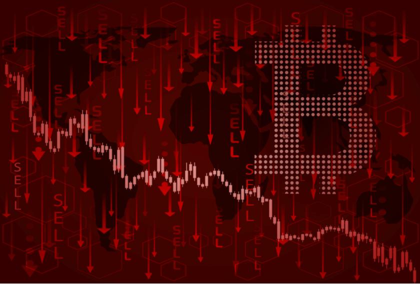 Bitcoin Kurs fällt um $2.000 - $185 Millionen liquidiert - coin-update