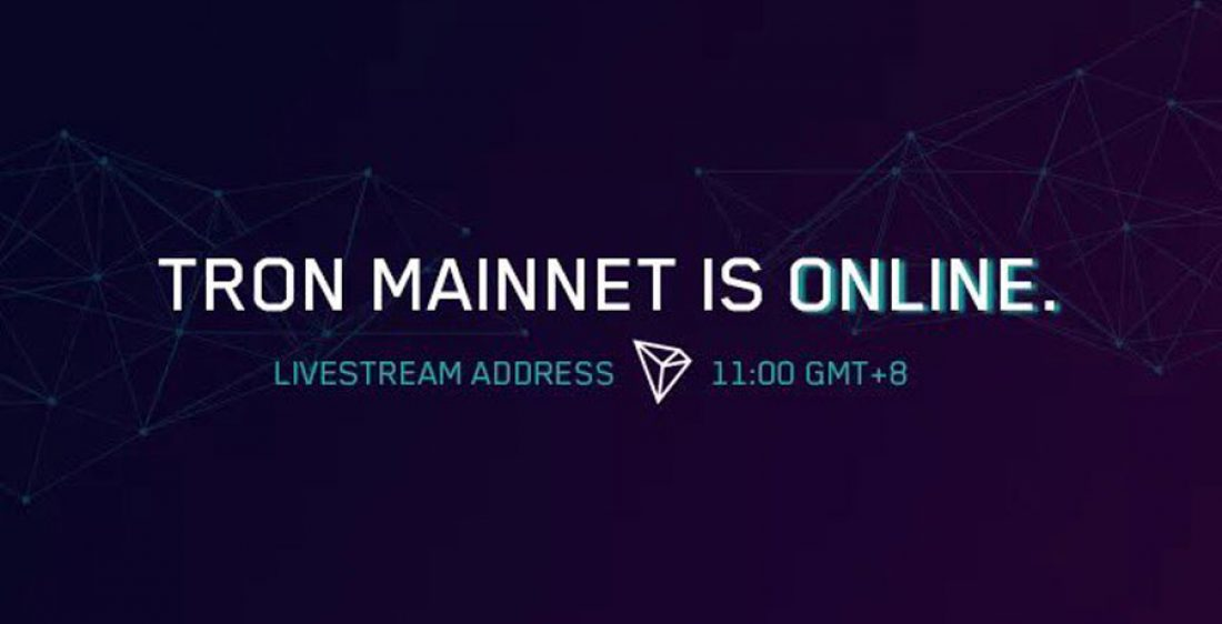 TRON-Mainnet-ist-Live